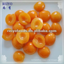 Choice quality canned apricot