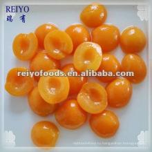 Выбор качества консервированного абрикоса