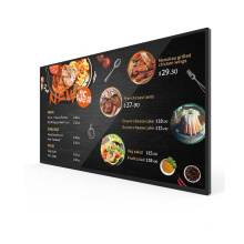 Customized 49 inch wall mounted media player advertising screen display android digital display