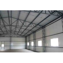 Light steel structure material and structure workshop