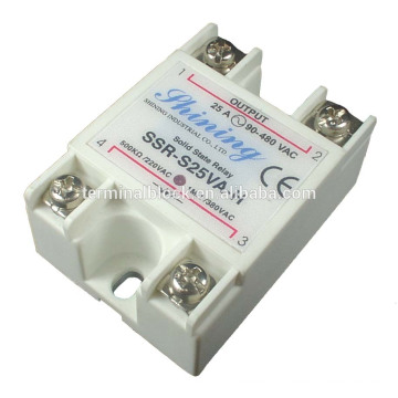 SSR-S25VA-H 25A VR To AC Single Phase Solid State Dpdt Relay