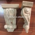 antique wood columns/decorative wood carving corbels