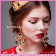 WC0077 Nova moda de alta qualidade barato da noiva da China usam ocasiões casuais ouro cor estilo popular brinco de ouro turco