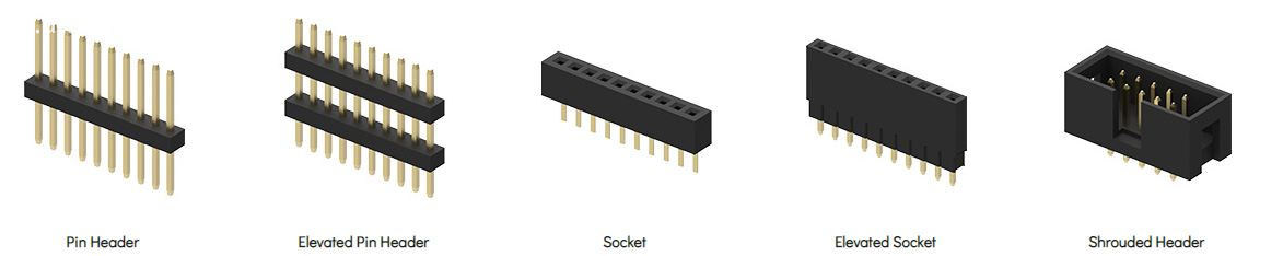 basic types of Board to Board Connector