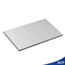 Feuille de revêtement en aluminium brossé décoratif ferme