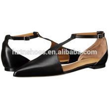 Neue Modelle spitzte Zehe Schuhe Damen Mode Ballett flache Schuhe