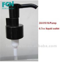 Pompe à main pour la menthe à la menthe à la menthe 24/410 PP Printemps noir de haute qualité