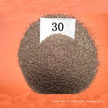 Óxido de alumínio castanho para jateamento de areia e moagem, óxido de alumínio