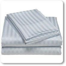 Heimtextilien gewebt Satin Streifen Stoff / 100% Baumwolle Satin Streifen Stoff gekämmt / Anti Pilling Hotel Bett