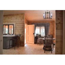 Maison de villa en bois préfabriquée
