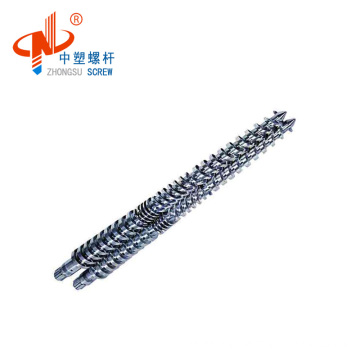 plastic extrusion KMD twin screw barrel