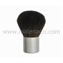 Natural Hair Kabuki Brush with Silver Ferrule