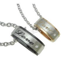 Gets.com 316l stainless steel Couple Necklace for lovers