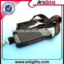 Customized logo lanyard neck strap mobile phone