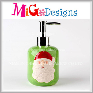 Distributeur de savon et de lotions au comptoir Bouteille à pompe en céramique