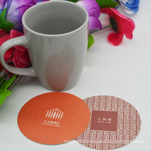 Paper Coaster/Water-Proof Tea Cup Mat/Absorbent Paper Beer Coaster