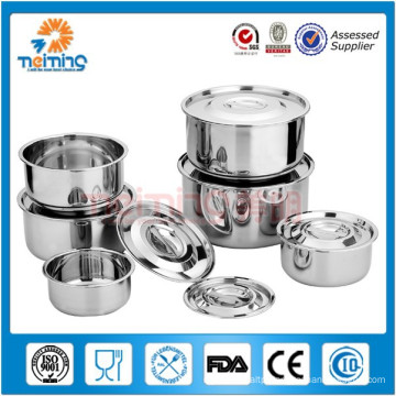 stainless steel vacuum airtight food crisper/ food storage container