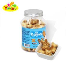China Milk Cream center into Bear Biscuits