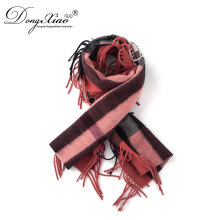 Chinese Manufacturer Supplied Women long 100% Cashmere Scarf With Tassel