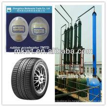 acelerador tmtd polvo/granular para la industria de productos químicos