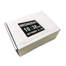 Impression personnalisée de boîte d'emballage de boîte de papier de haute qualité