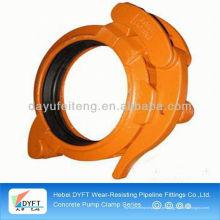 2-8inch concrete pump screw clamp manufacturer fo concrete pump spare parts