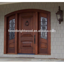 Oak Pinewood Solid Wood Door Exterior Carved Wood Door