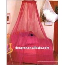 Canopée à lit rond