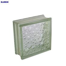Bloco de vidro da cor interna de 190 * 190 * 80mm
