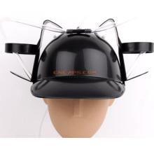 Sombrero de encargo de la cerveza del casco de la impresión con la paja de beber para el día de fiesta de la cerveza del St Patrik