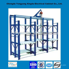 2014 popular oem custom mold storage rack