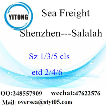 Shenzhen Port LCL Consolidation To Salalah
