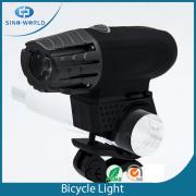 MIGLIORE luce da bici a LED USB rotante in plastica