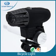 BEST plastic rotating USB led bike light