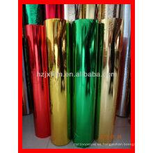 Película de hilo metálico con varios colores
