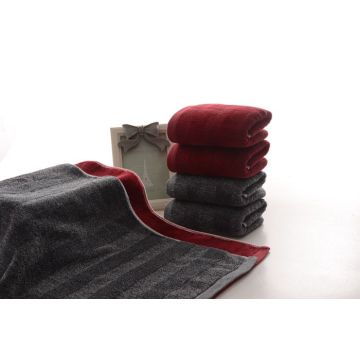 AB Benang Terry Towels dengan Solid Color