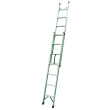 Extension Single Straight Ladder Aluminum 4M