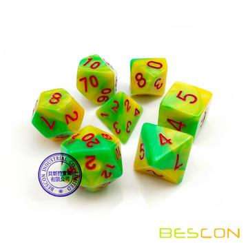 Custom Polyhedral Dice D&D Dice Game Dice Supplier