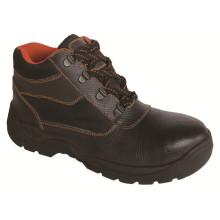 Ufa019 Black Best Selling Industrial Steel Toe Safety Shoes