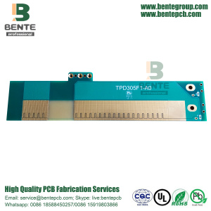 Thick Copper PCB 2 Layers PCB FR4 Tg150 ENIG Tapered Holes