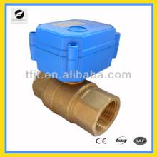 CWX15Q mini válvula motorizada operada para bobina de ventilador e sistema de ciclo de água quente