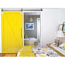 Puerta de madera corredera para sala de estar