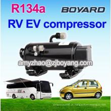 Compressor giratório do inventor da CC 12v 24v para o condicionador de ar solar
