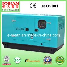 Gerador diesel refrigerando do motor do poder da água 30kw / 37.5kVA silenciosa