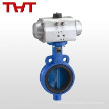 Válvula de borboleta de atuador elétrico acionada acionada elétrica de rotor rotativo