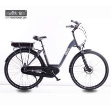2018 a melhor bicicleta elétrica da cidade da qualidade 48v 500w da porcelana com o motor meados de da movimentação 8fun