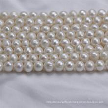 9-10mm aus Runde Zhuji kultiviert natürlichen Süßwasser Perle Perlen Preis
