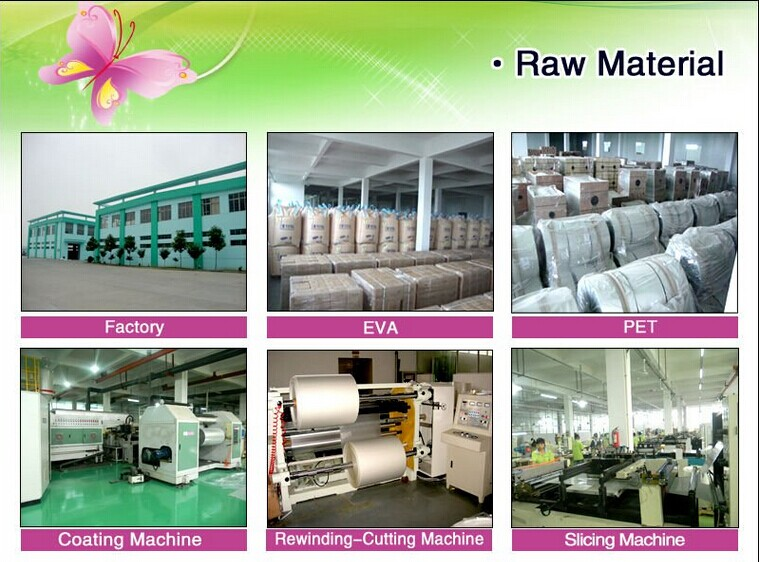 matt lamination raw material