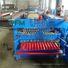 FX corrugated tile carriage board rolling machine