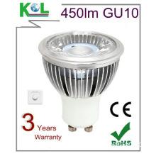 BEST DESIGN Dimmable GU10 LED Spot light, CE&RoHS certificated